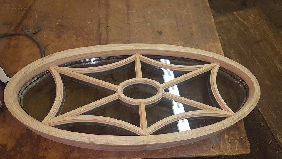 Oval Window fabrication & Installation