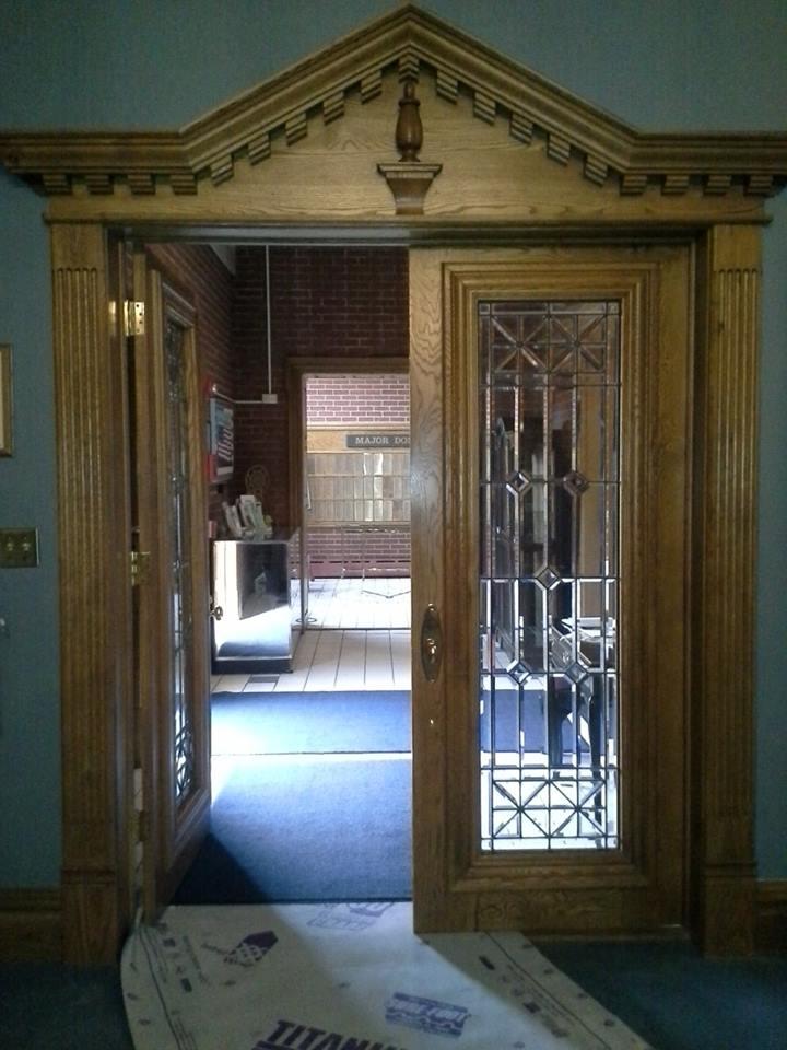Deluxe Interior Double Door Fabrication and Installation