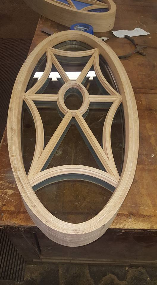 Oval Window fabrication Image 2