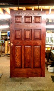 Wooden Door Restoration Complete!