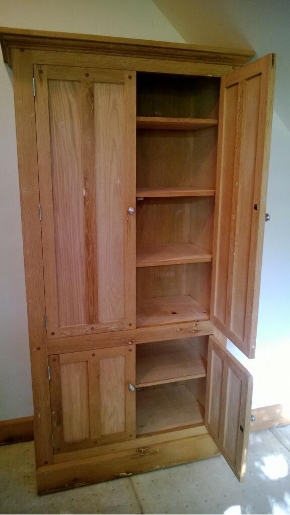 bathroom linen cabinets | hissom roofing & construction llc